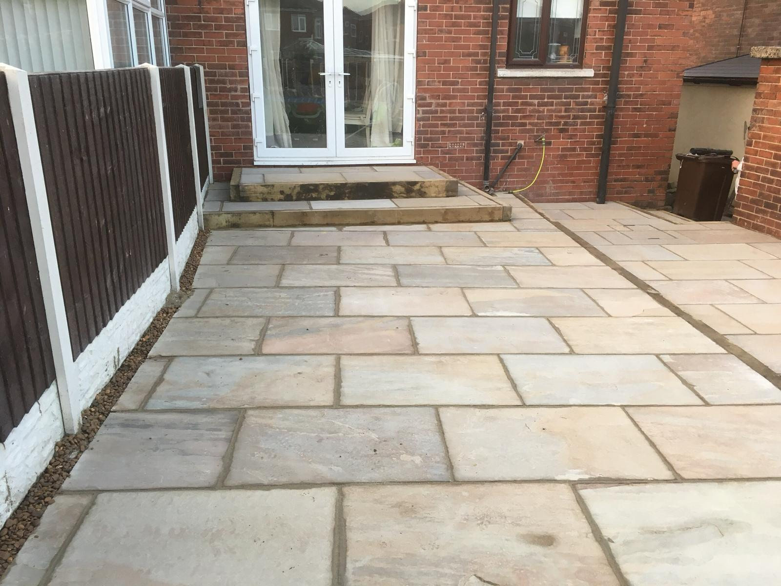 Patio project completed
