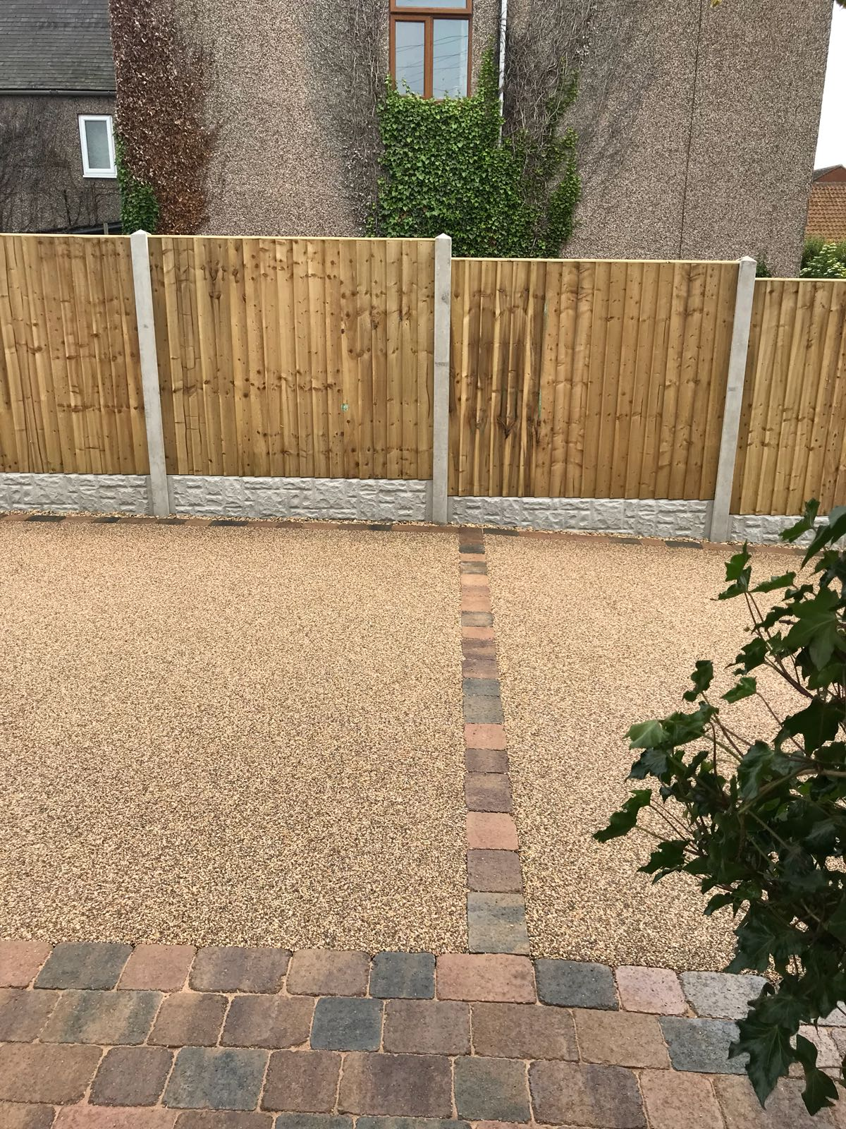 Fencing project for garden