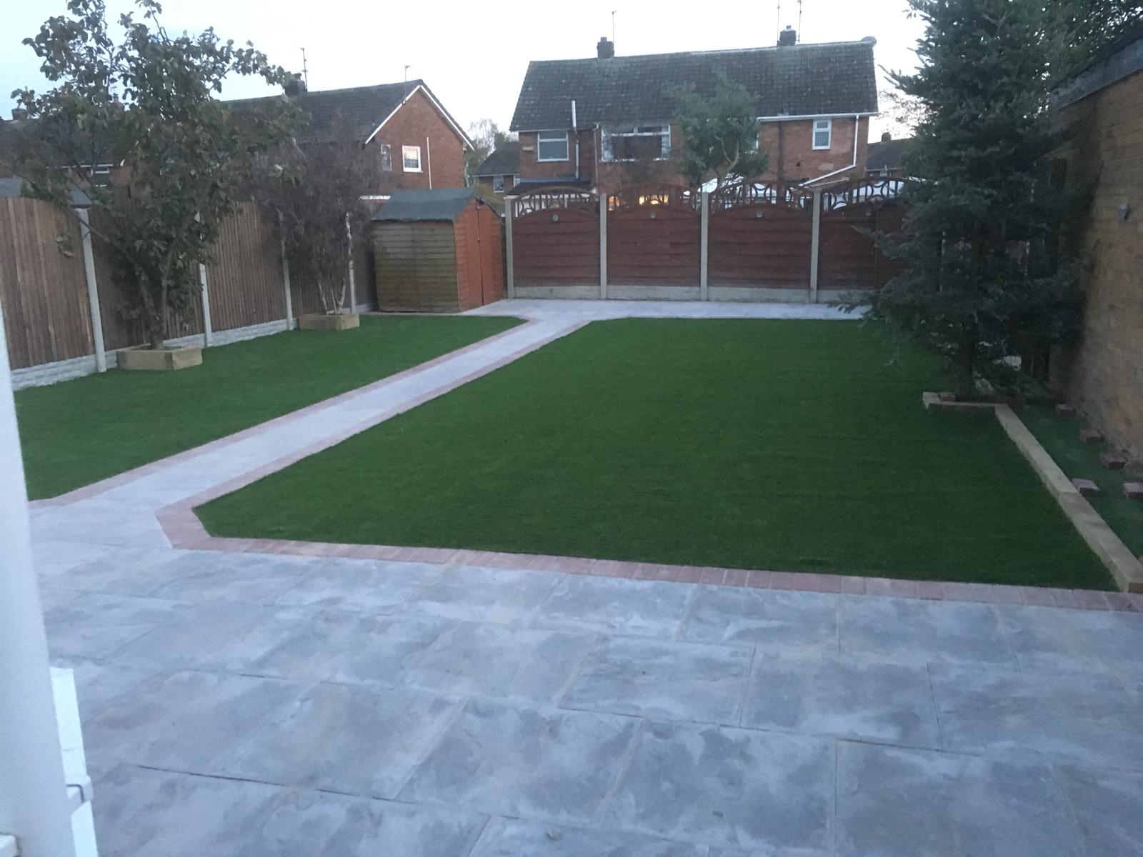 Artificial grass project for Hanrahan